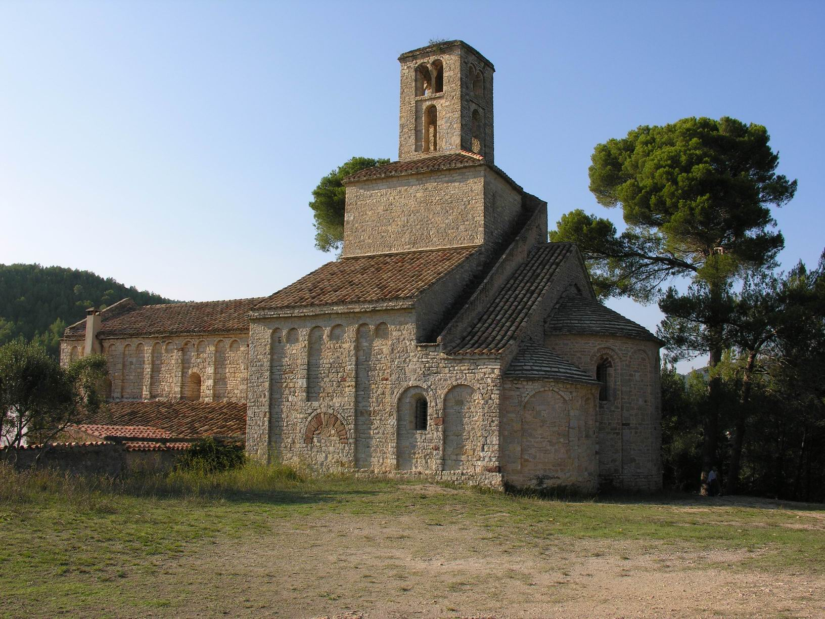 Monasterio de Sant Ponç (© Wikimedia Commons)