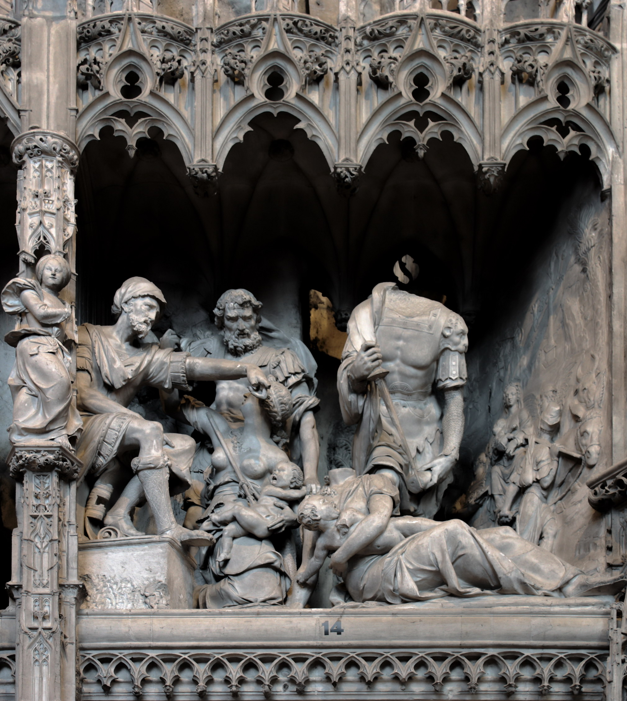 Slaughter of the Innocents. Chartres Cathedral