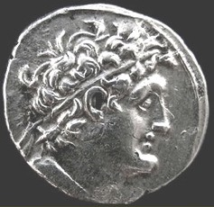 Coin of Ptolemy VII Neos Philopator (cropped).jpg