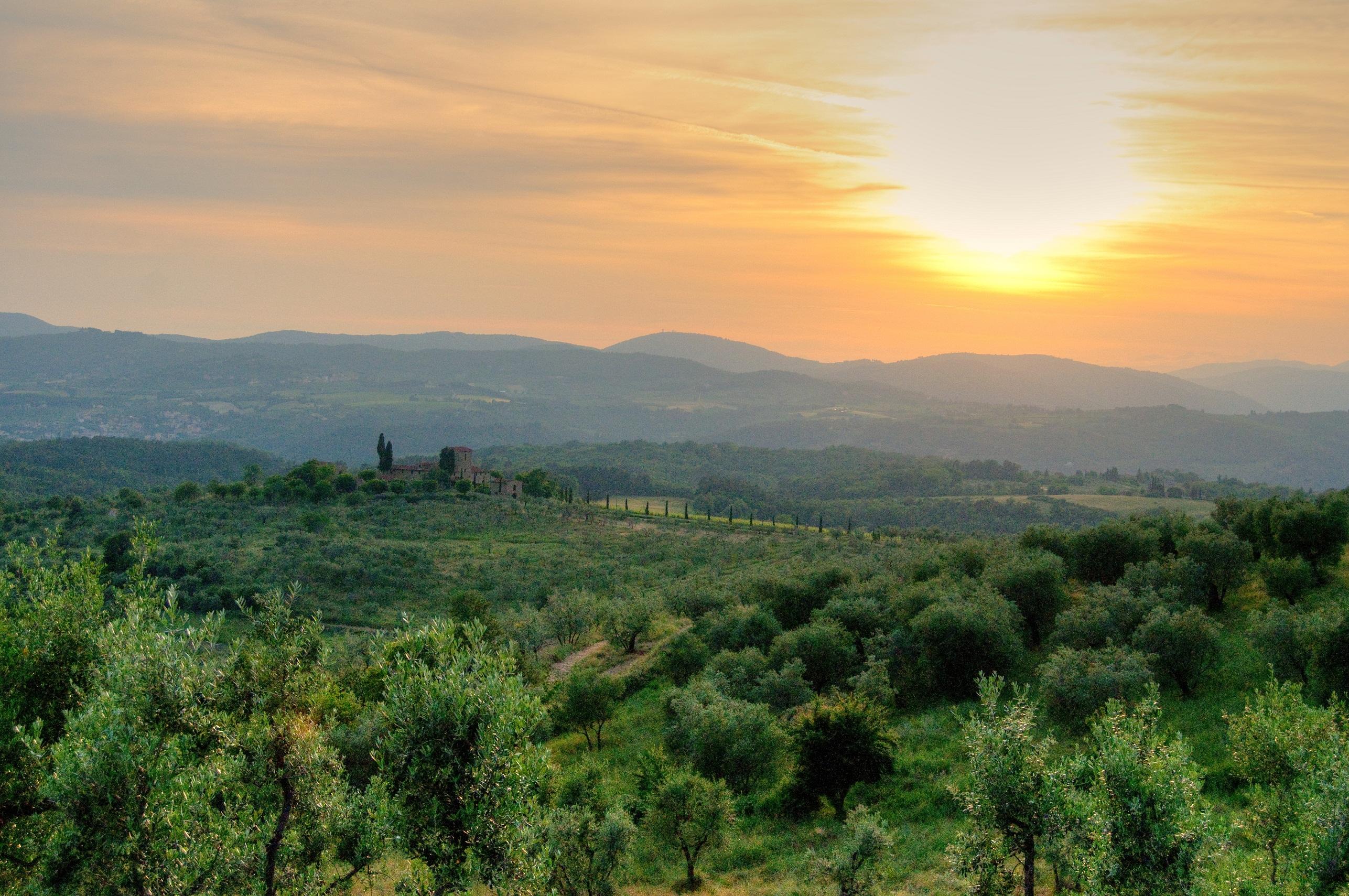 Reggello Italy  city pictures gallery : Countryside in Reggello Wikimedia Commons