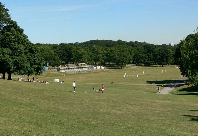 Cricket Field, Roundhay Park, Leeds - geograph.org.uk - 202543