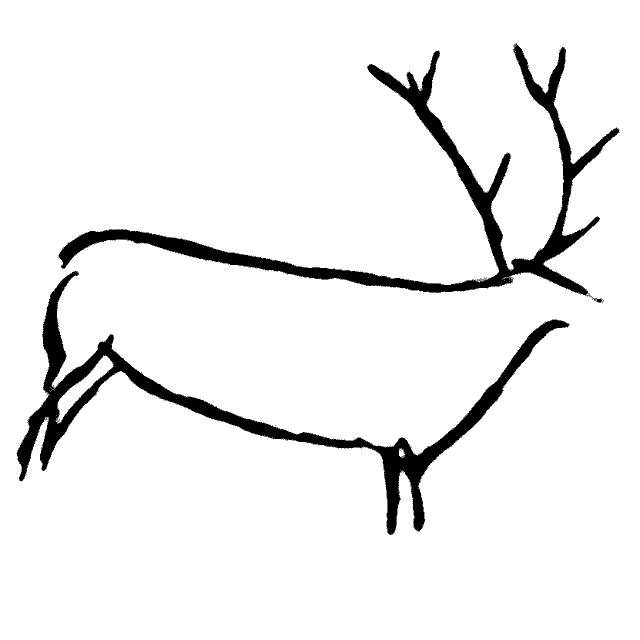 K Es Un Bisonte Paleolitico dibujos pa...