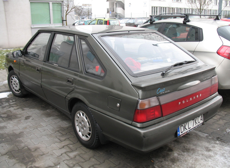 File:Daewoo-FSO Polonez Caro Plus 1,6 GLI in Kraków (2).jpg ...
