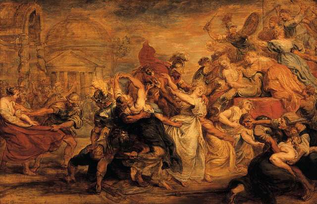 The Rape Of The Sabine Women Rubens Wikiwand