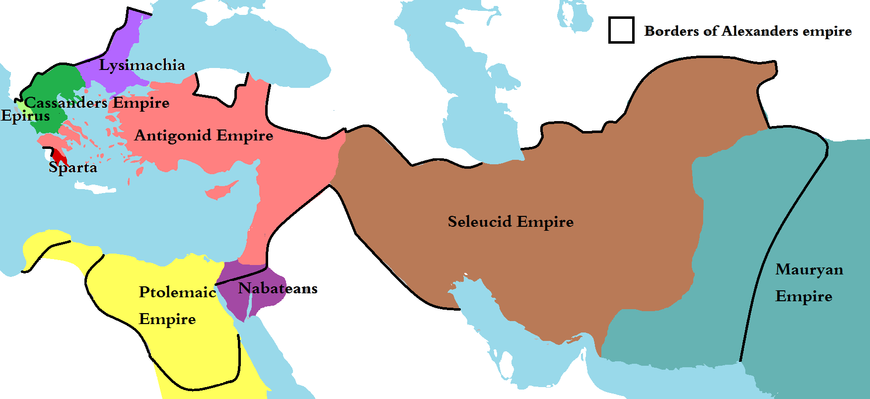the ptolemaic seleucid and antigonid kingdoms Seleucid and ptolemaic reformed armies 168-145 bc  seleucid or antigonid  during the period when the ptolemaic and attalid kingdoms had entered into a.