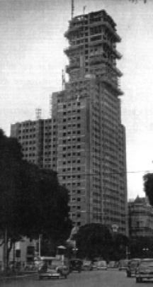 Edificio Alas en construccion
