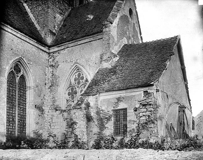 Eglise SainteAnnedeGassicourt  Transept nord  ManteslaJolie