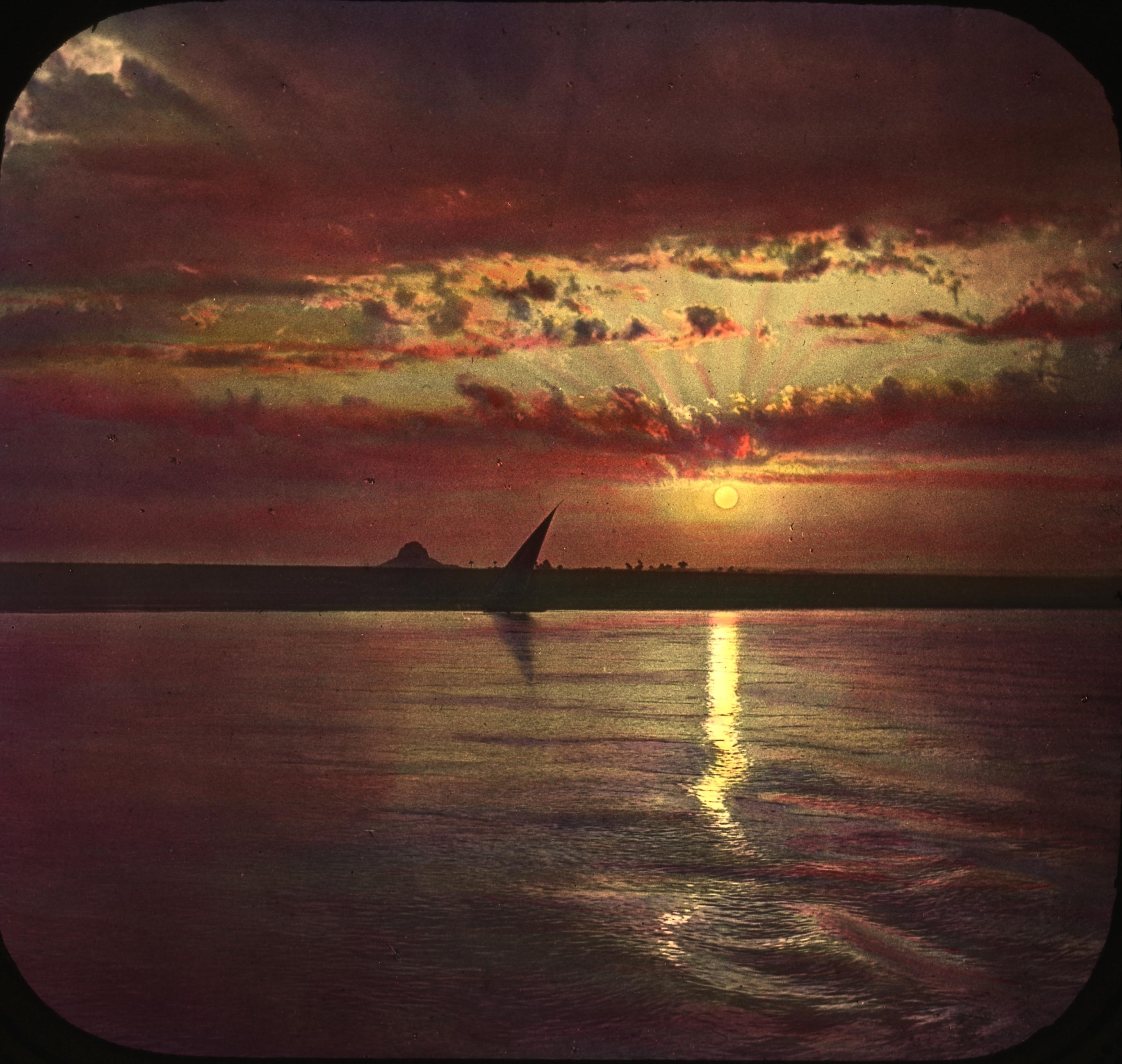 FileEgypt Sunset On The Nilejpg Wikimedia Commons