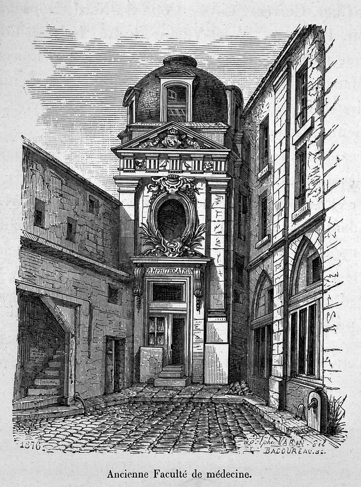image of Faculté de médecine de Paris
