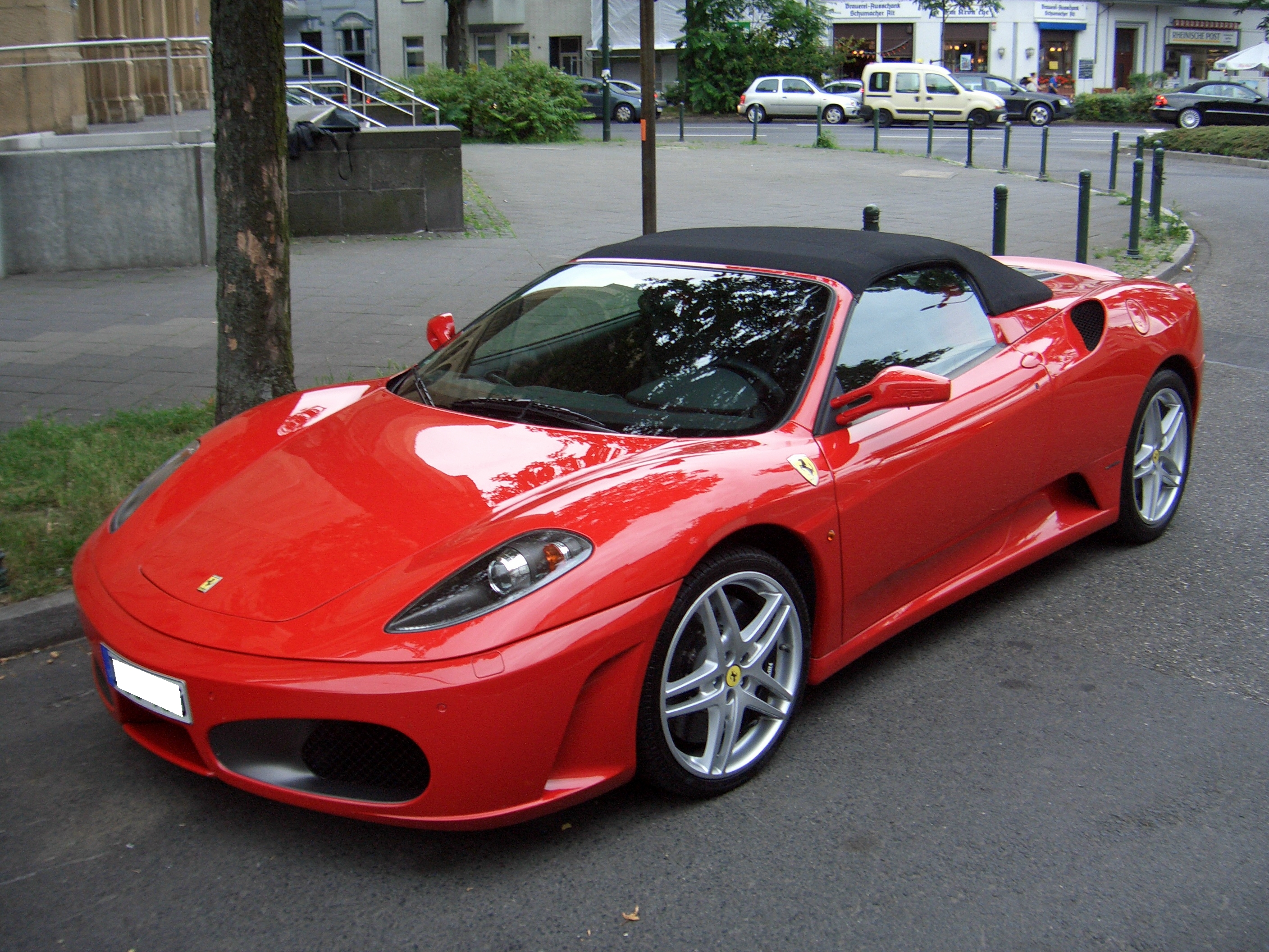 file ferrari f430 spider from 2004 frontleft 2008 06 05 wikimedia commons. Black Bedroom Furniture Sets. Home Design Ideas