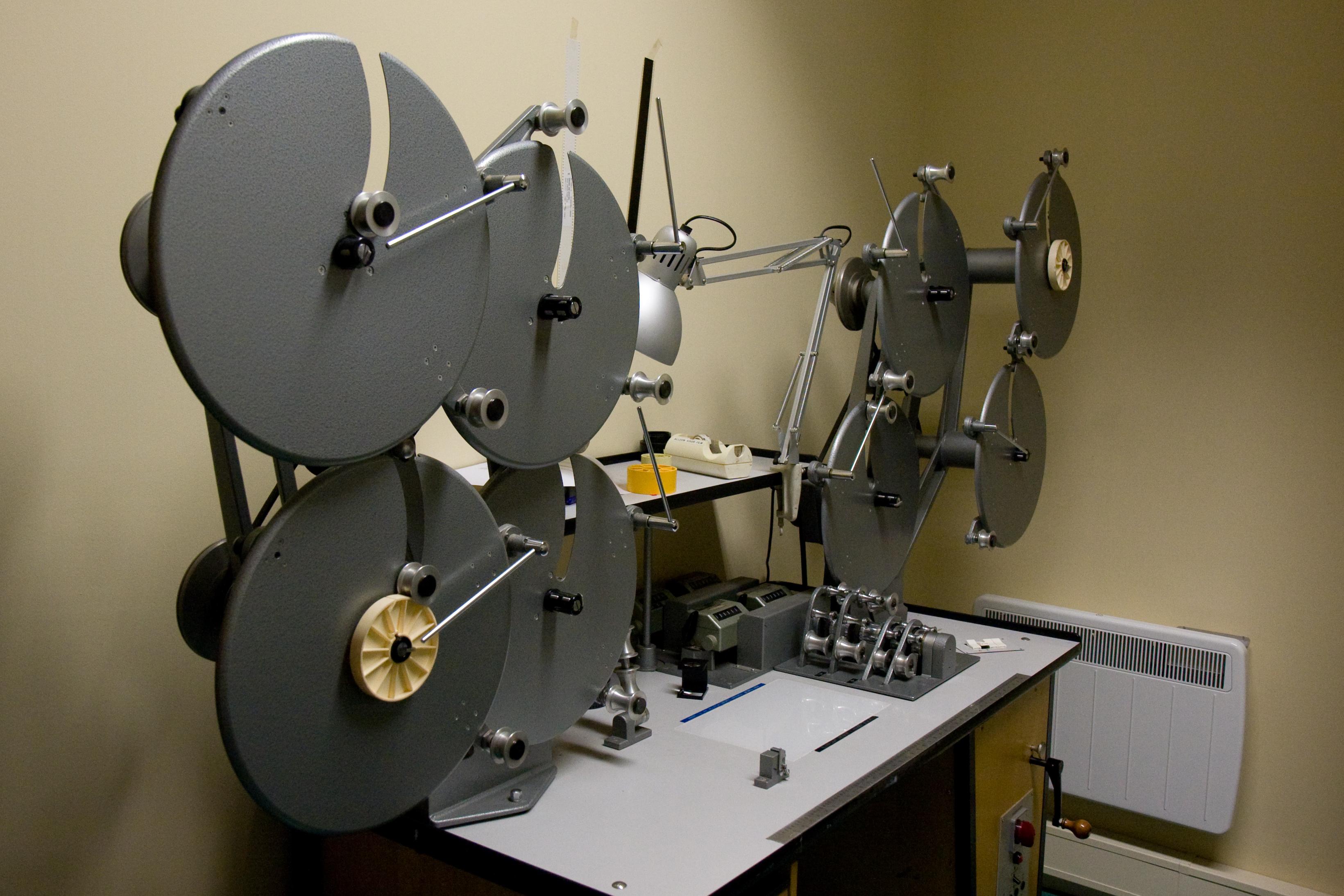 Film Editing Table