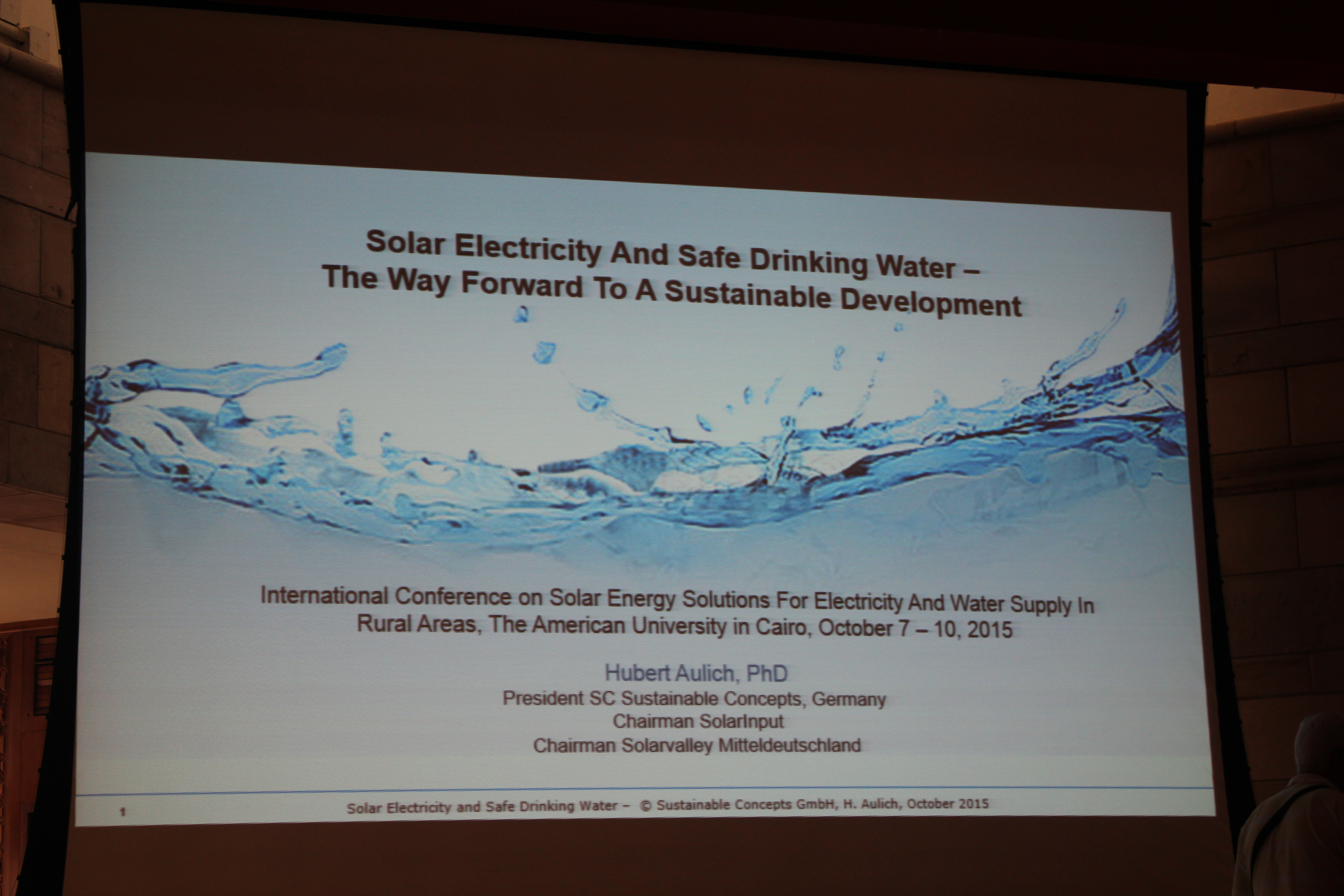 File:First International Conference on Solar Energy Solutions in
