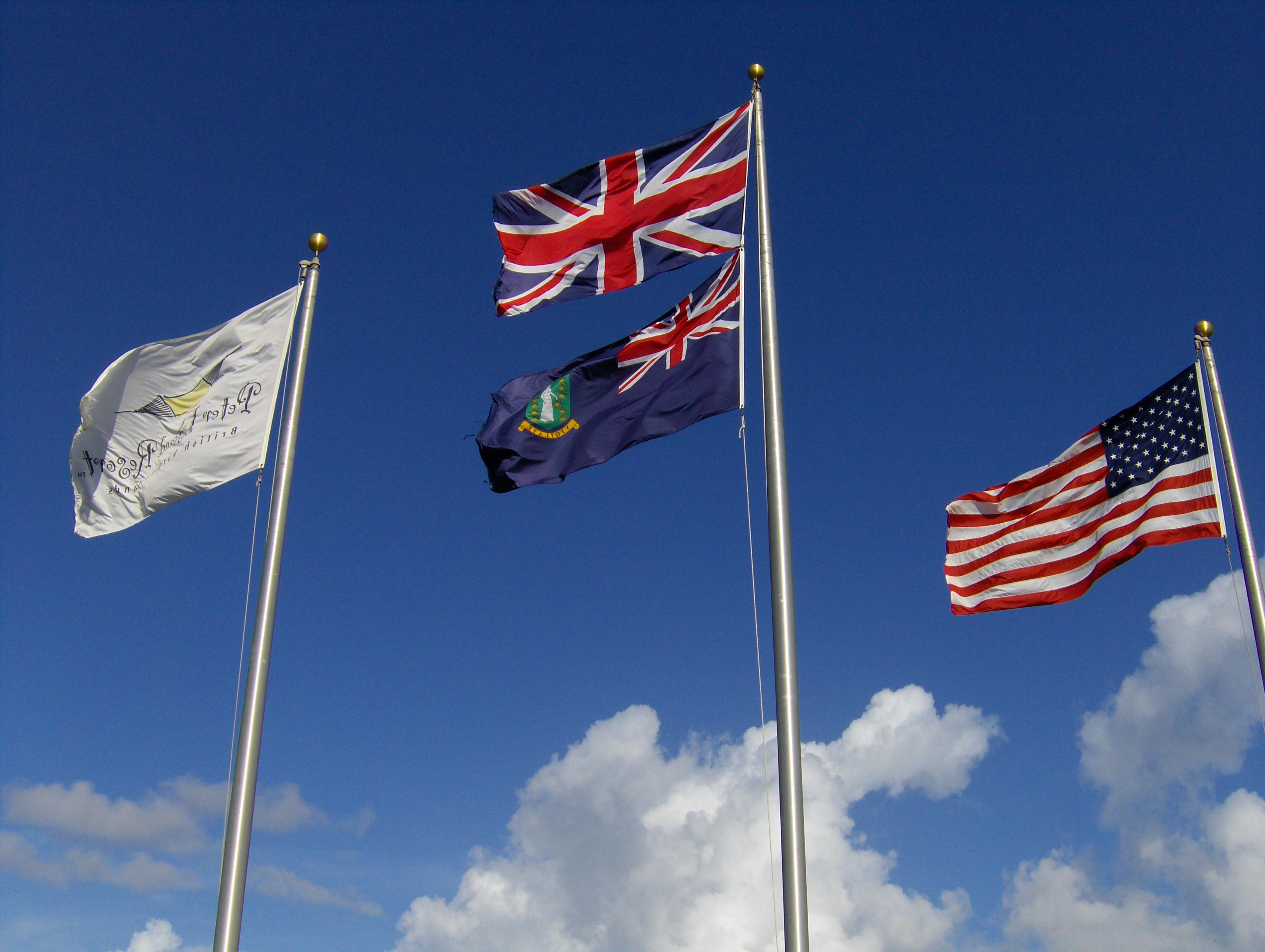 Brittish Virgin Islands Flag