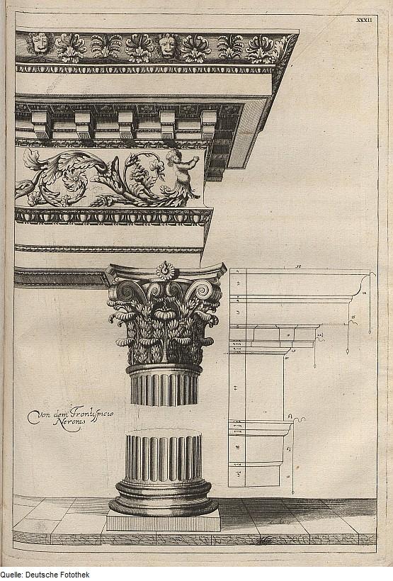 Fries Architektur file fotothek df tg 0008012 architektur säulenordnung basis