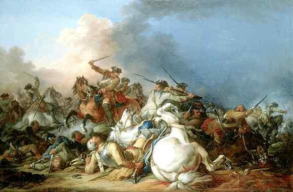 Batalla de caballería-  Francesco Casanova Francesco_Casanova_Battaglia_di_cavalleria