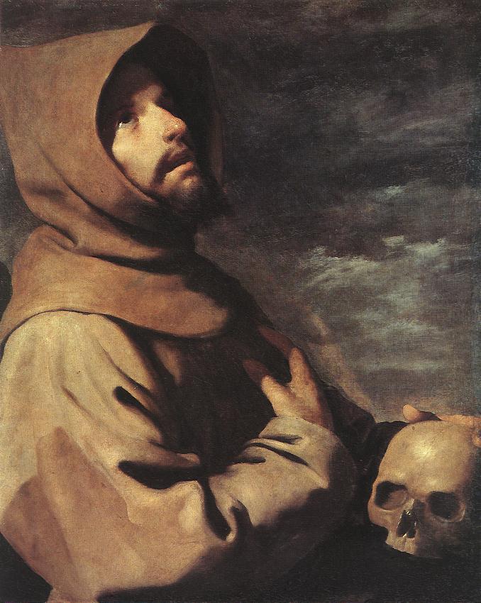 Francisco de Zurbarán - St Francis - WGA26075.jpg
