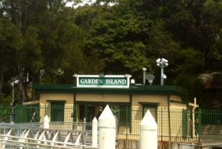 Garden Island ferry wharf