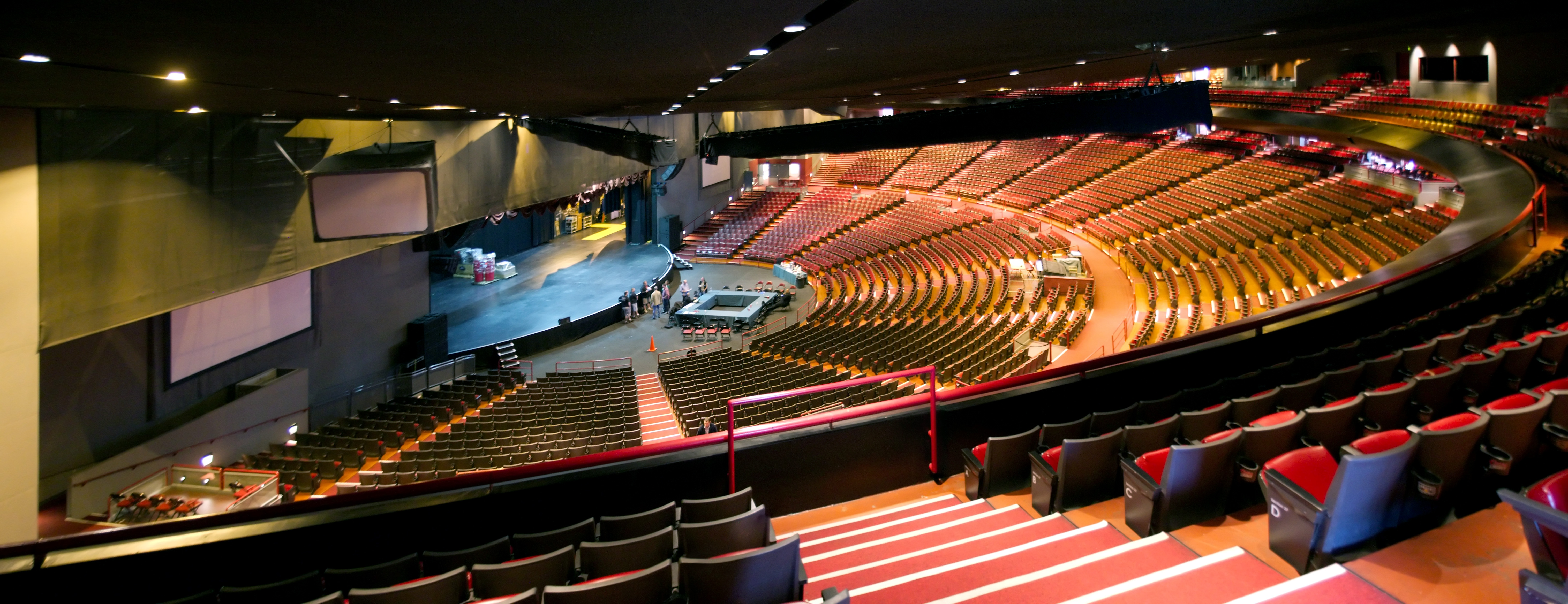 Gibson amphitheatre pano