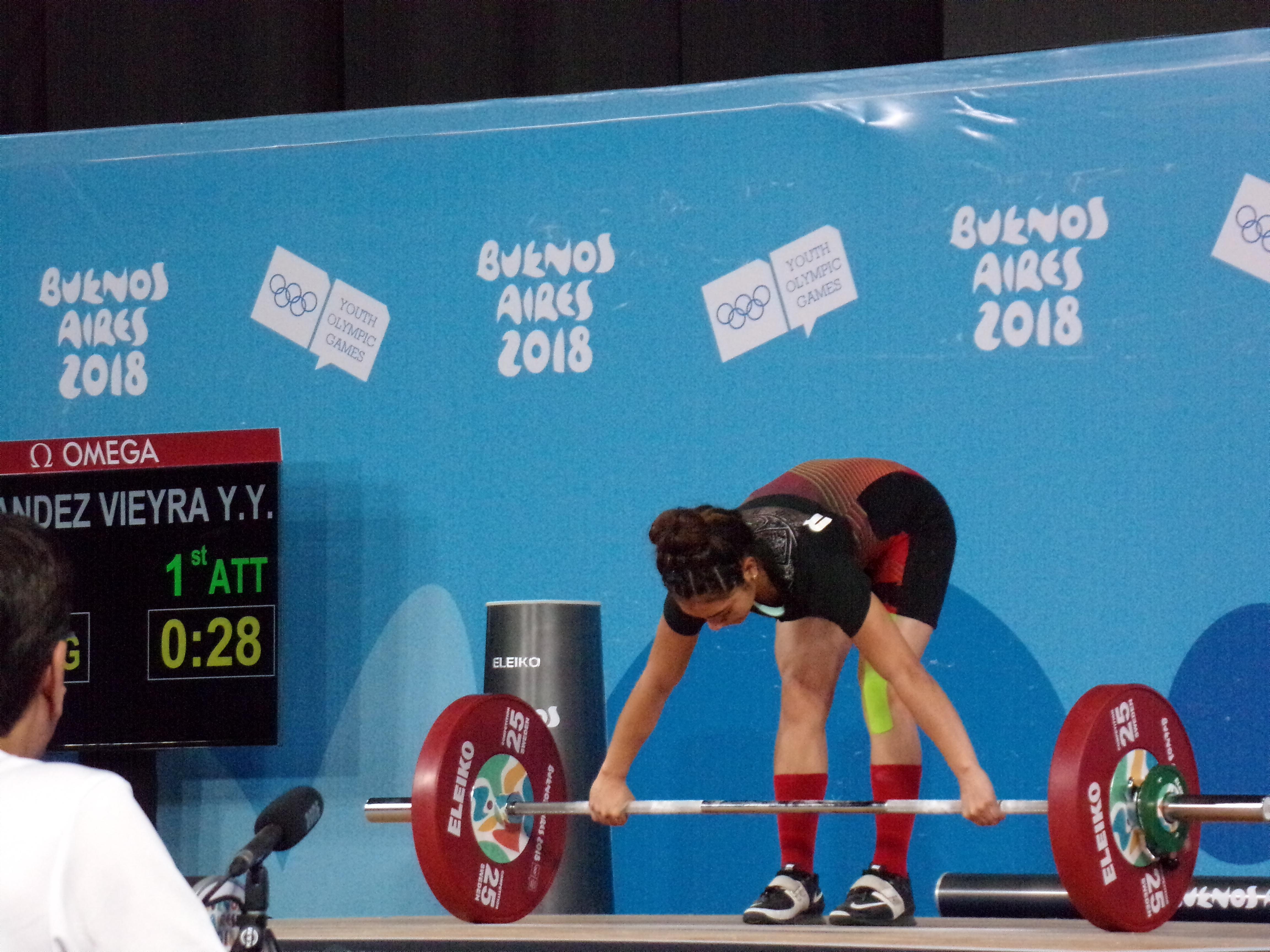 File:Girls 48 kg Weightlifting 2018 YOG 33 jpg - Wikimedia