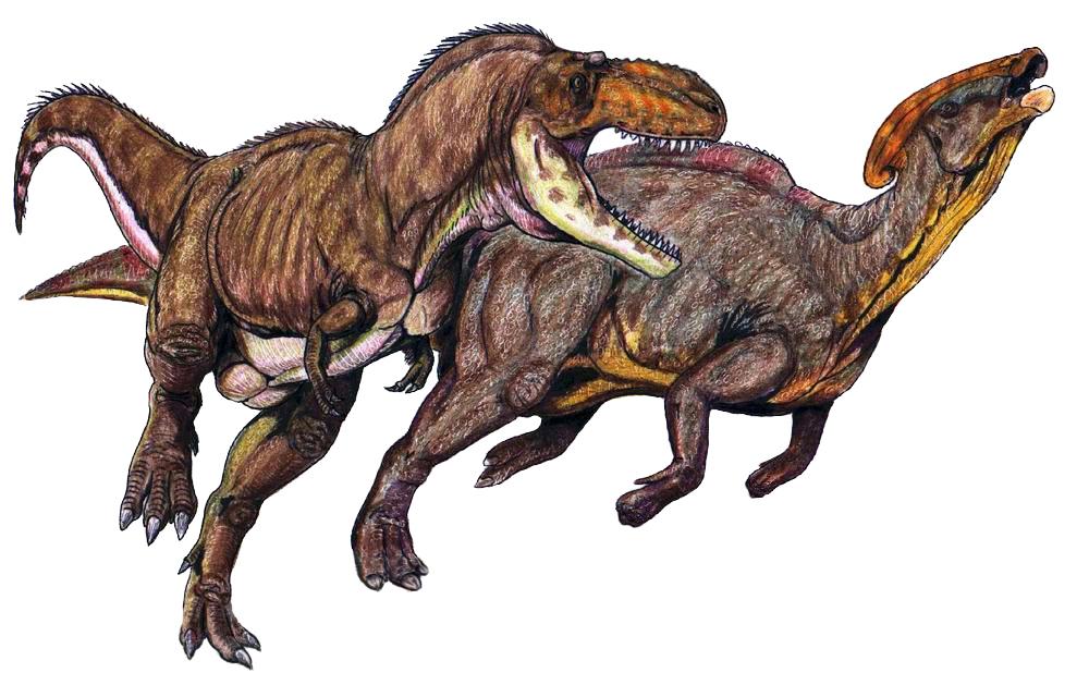 Chasse de Dinosaures