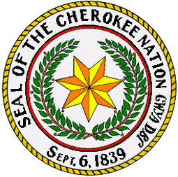 The Seal of the Cherokee Nation.