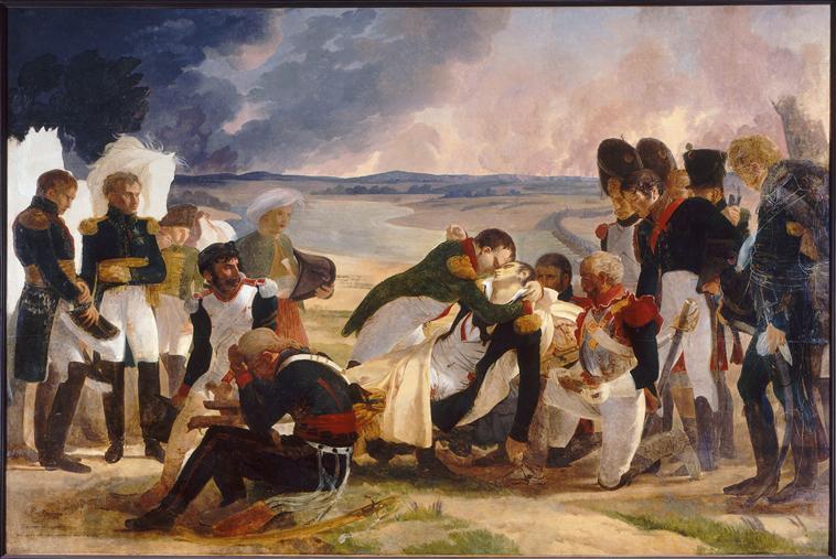 Guérin - La Mort du maréchal Lannes, duc de Montebello