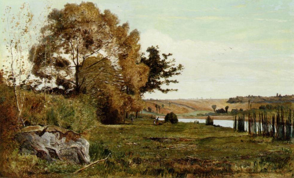 Paul Guigou - Deux Lavandières (1860)