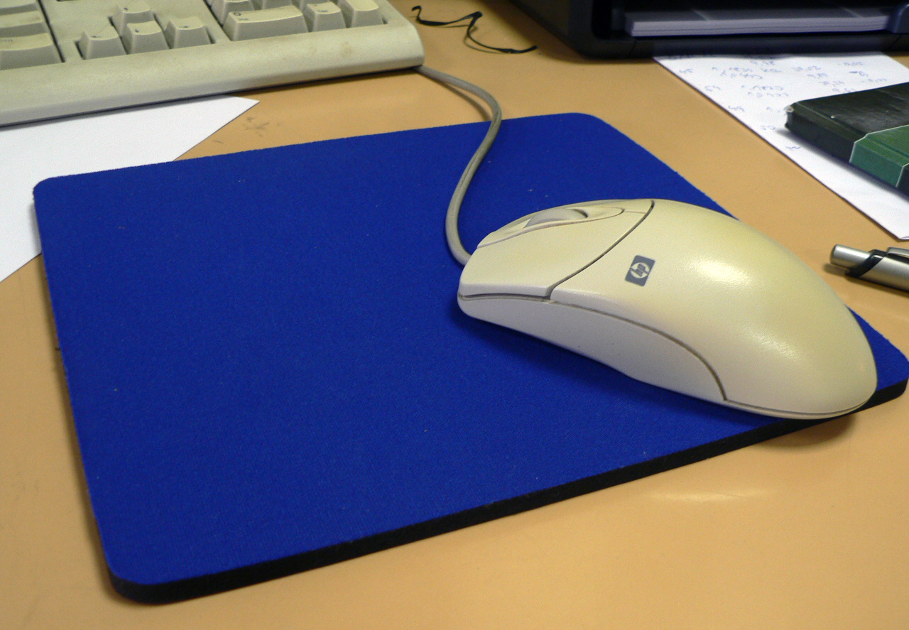 picture about Printable Mouse Pad titled Mousepad - Wikipedia