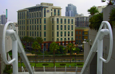 File Hilton San Diego Gaslamp Quarter From Sd Convention Stairs