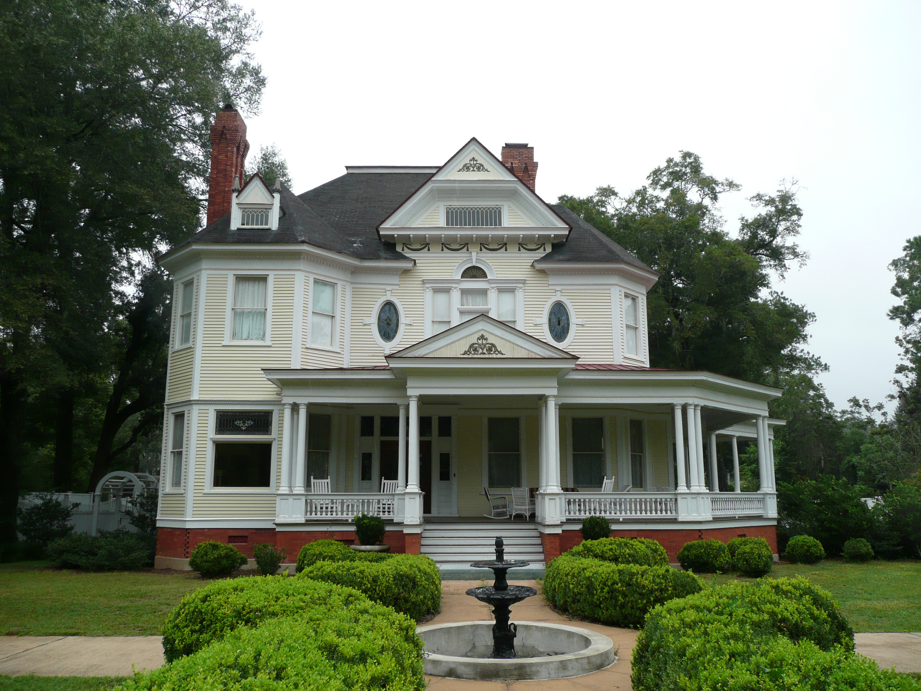 Victorian Style Mansions File Historical Home Bainbridge Ga 2007 2 Jpg Wikipedia