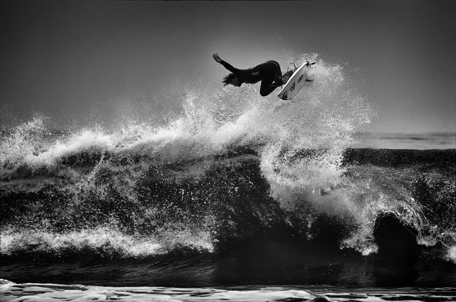 Sports photography black and white