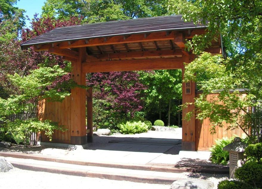 Porte de jardin japonais de Wroclaw - Photo de Puchatech K.