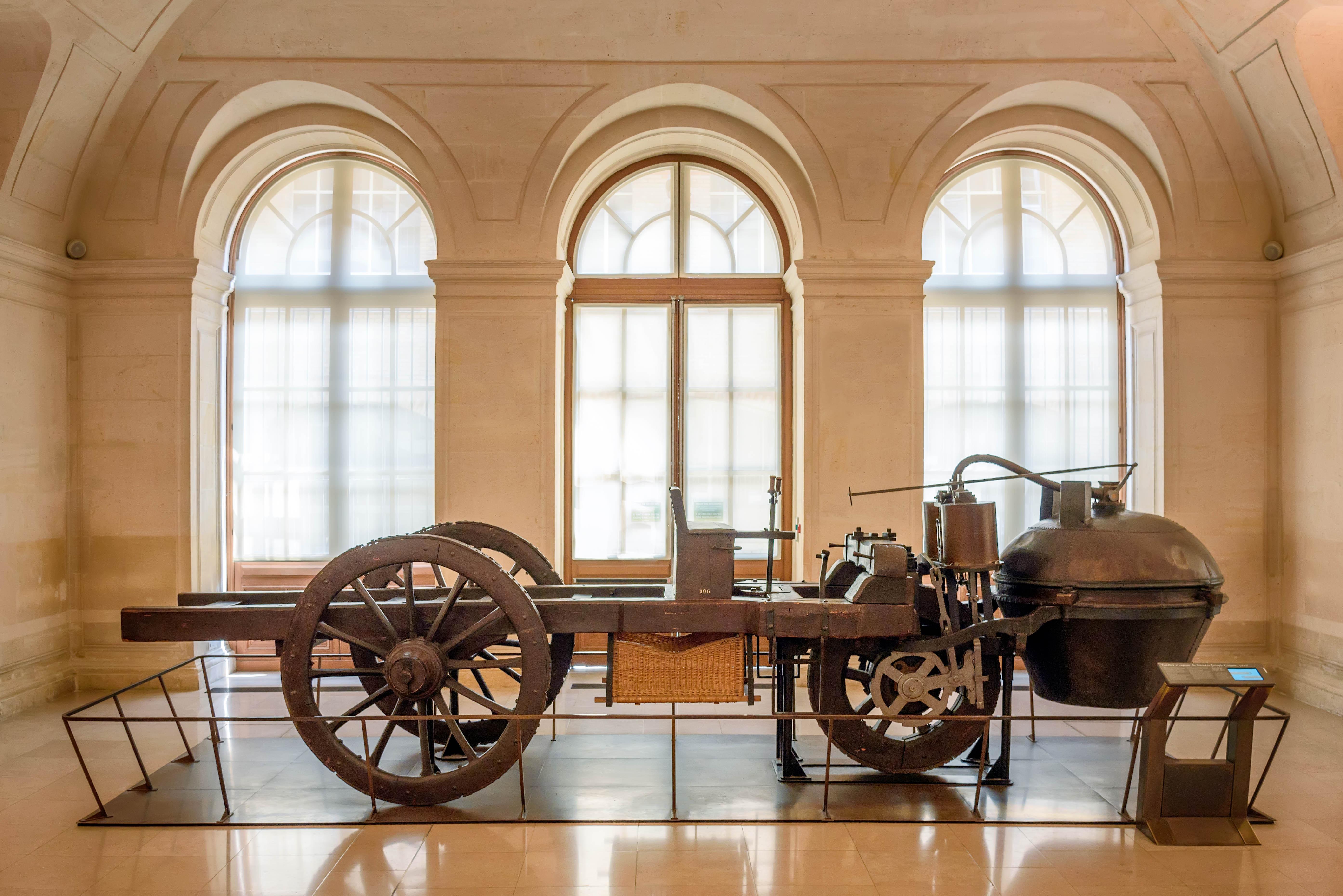 File joseph cugnot 39 s 1770 fardier vapeur mus e des arts for Arts et decoration