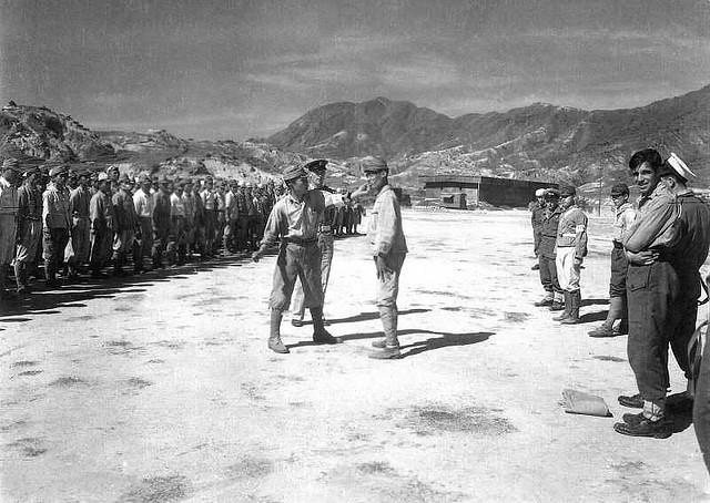 Description Japanese civilians listening to the surrender broadcast ...