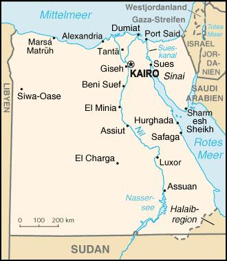 Karte Von ägypten.Liste Der Städte In ägypten Wikipedia
