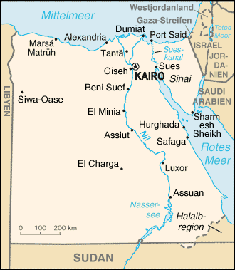 Liste Der Stadte In Agypten Wikipedia