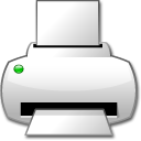 English: Printer icon :This image is made for ...
