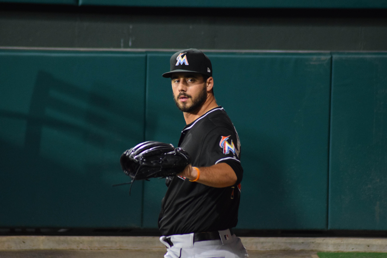 Kyle Barraclough, relief pitcher