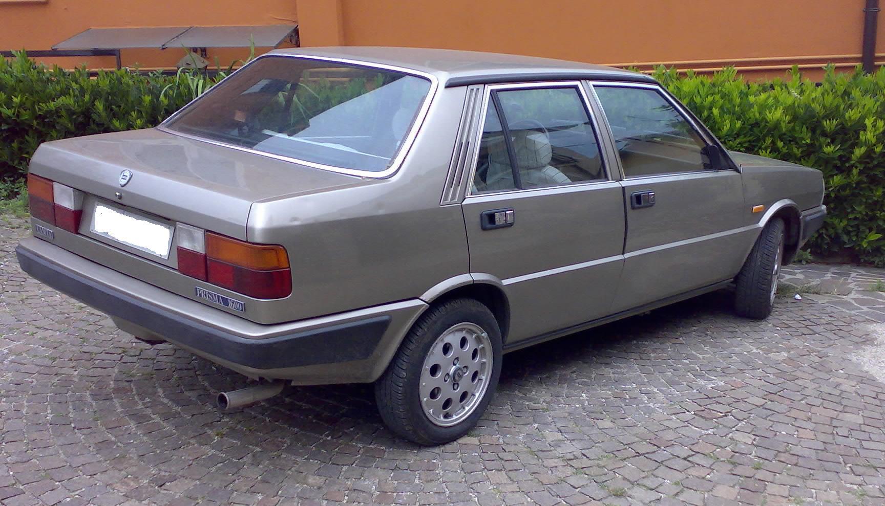 Lancia Prisma R86 (04/198604/1989)  Autostoria