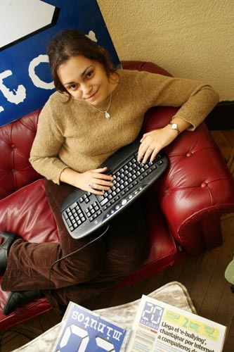 La autora Laura Gallego | Foto vía Wikipedia
