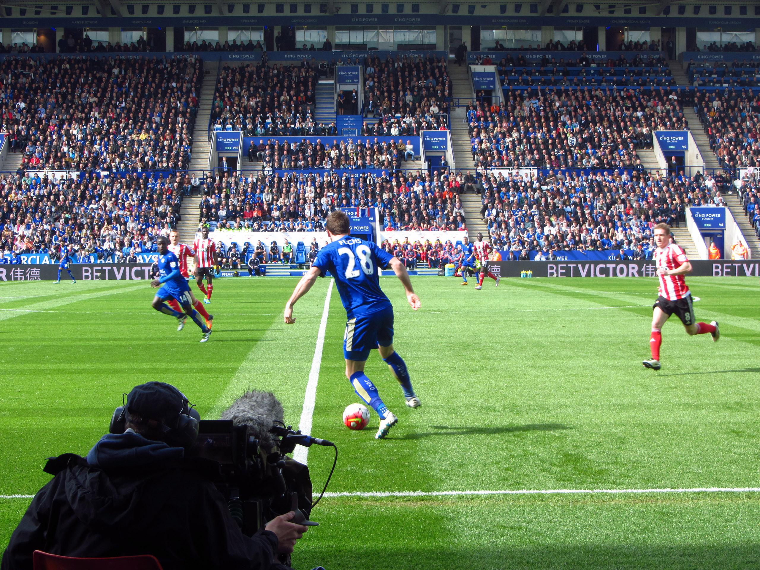 File:Leicester City FC - Southampton FC 03-Apr-2016, King ...