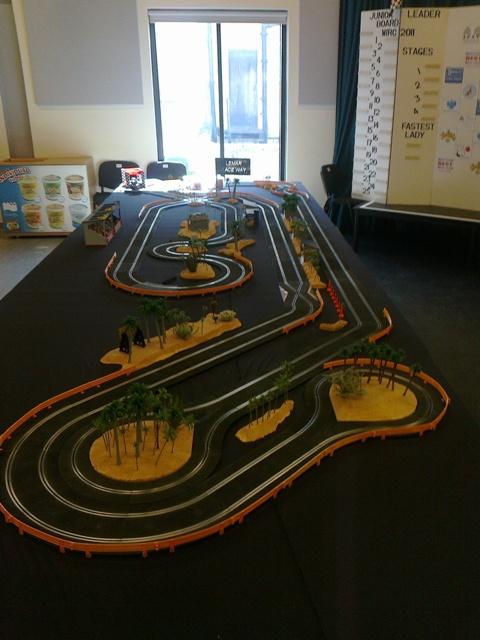 Slot car - Wikiwand  Lane Slot Car Track Wiring Diagram on