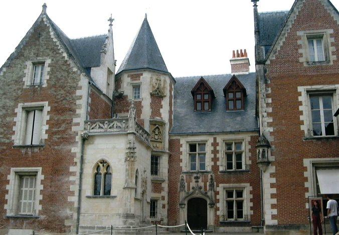 Clos Lucé, Leonardo Da Vinci's house, where he died. Amboise, France.