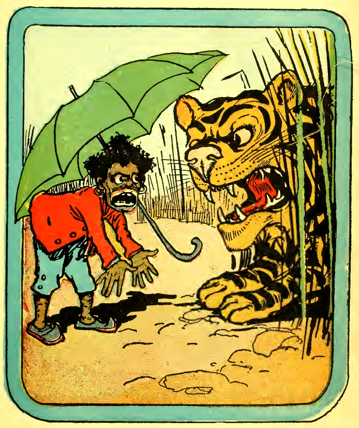 File:Little Black Sambo and tiger, by John R Neill.jpg ...