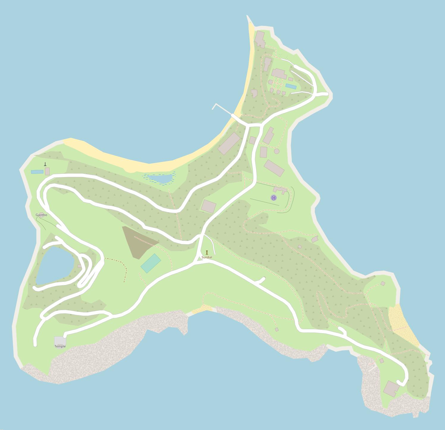 Little Saint James, U.S. Virgin Islands - Wikipedia
