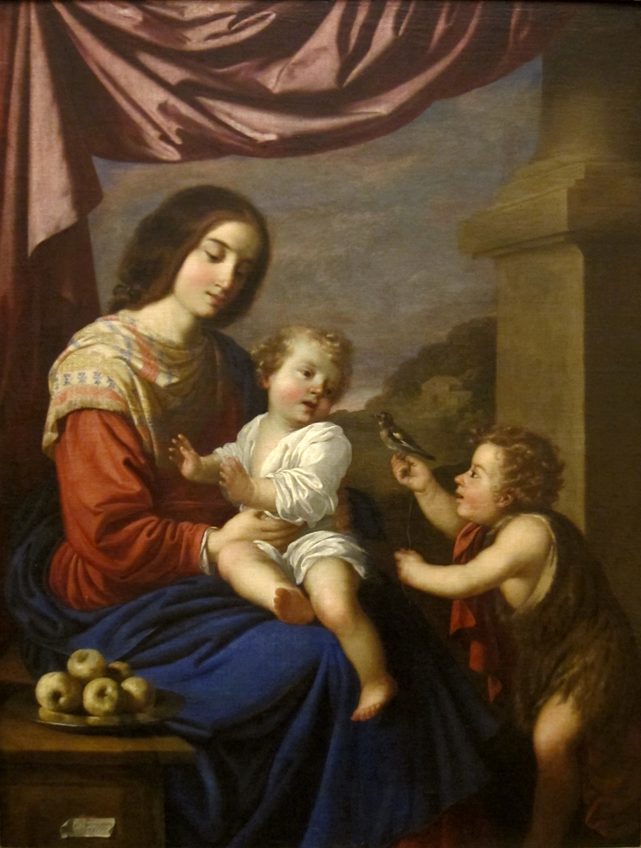 File:Madonna and Child with the Infant Saint John the ...