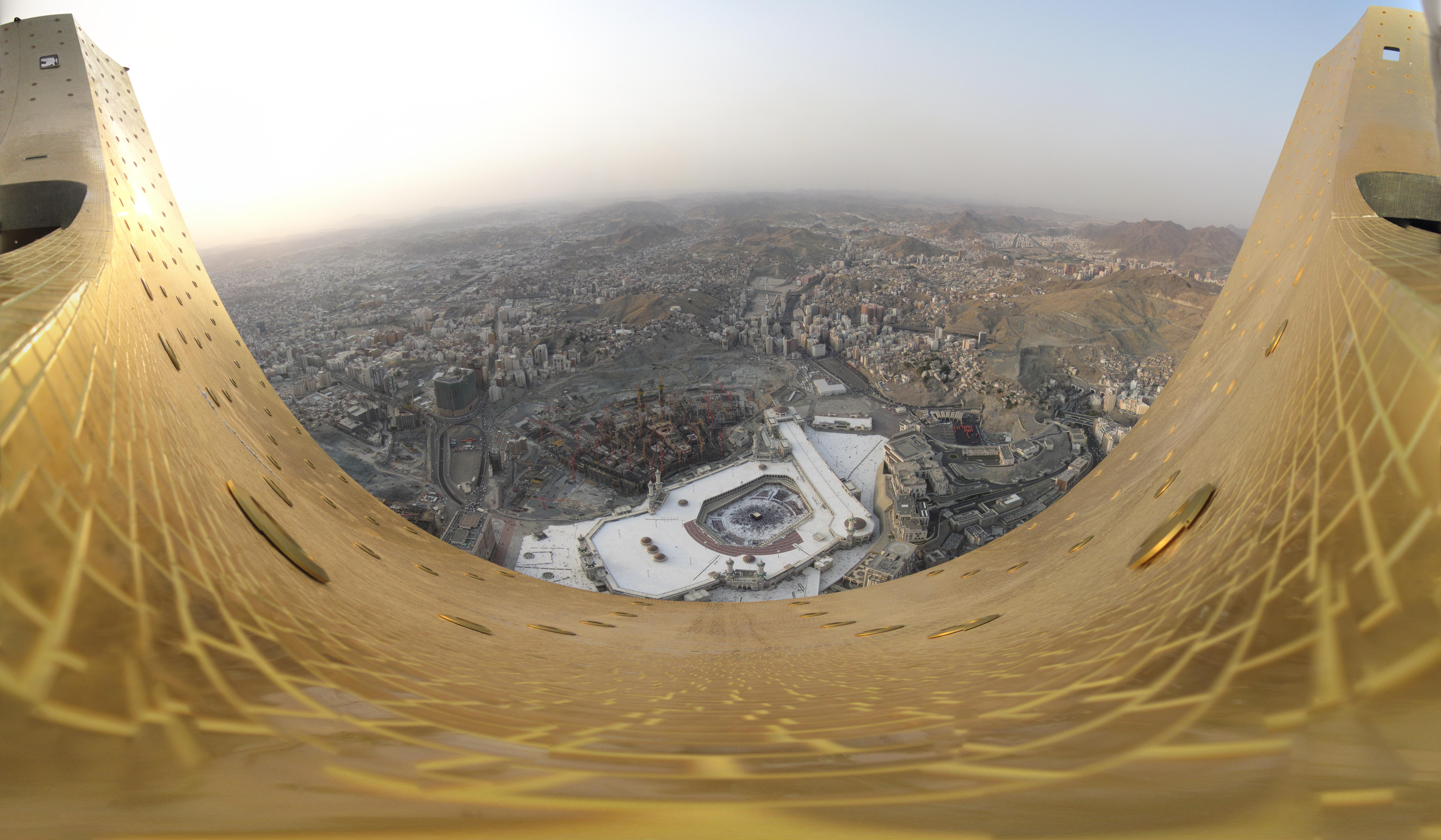 File Makkah Panorama 2011 Jpg Wikimedia Commons