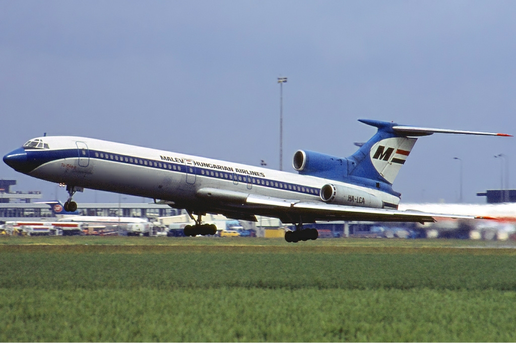 Malev the hungarian airlines