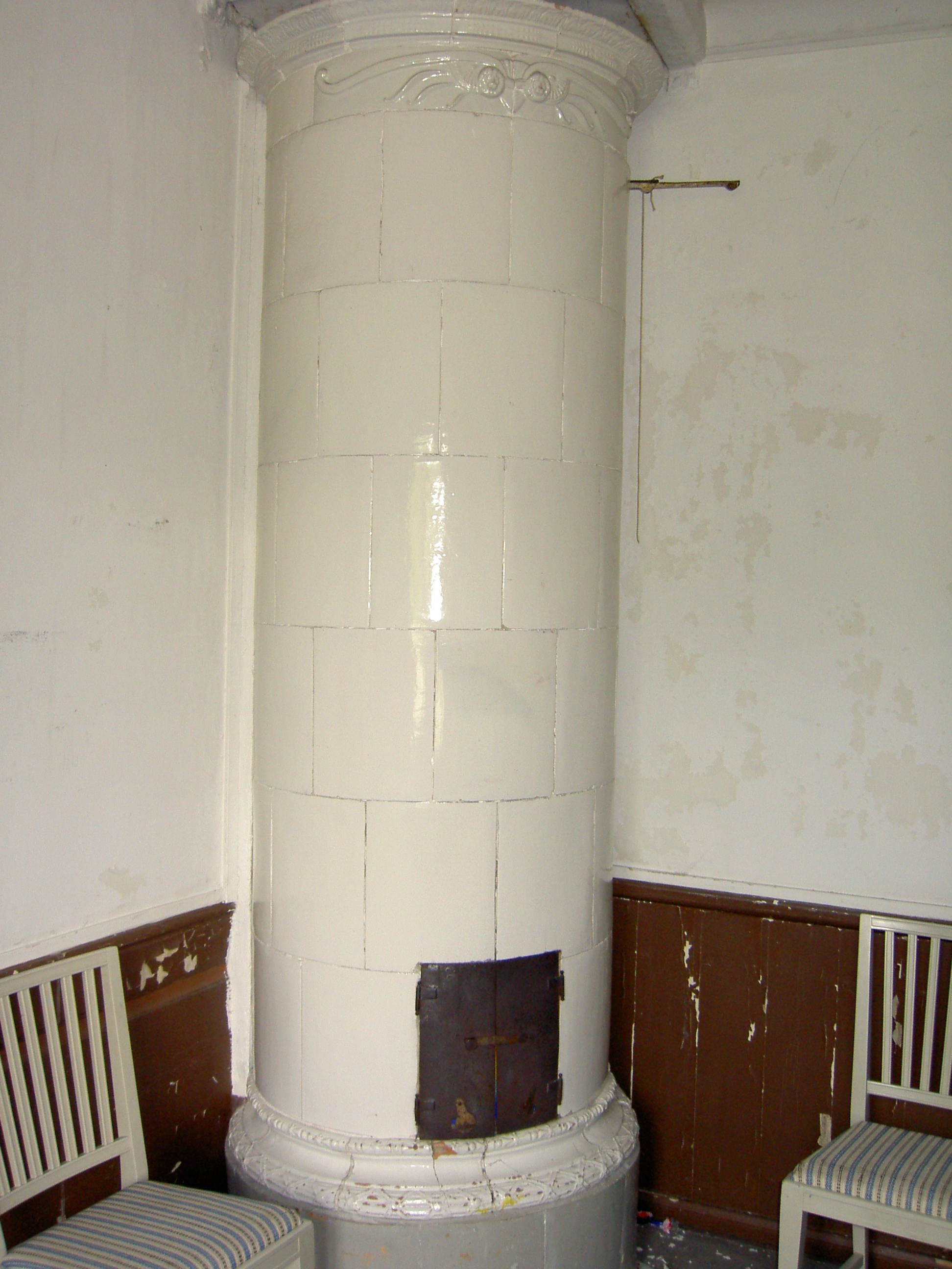 tiled stoves