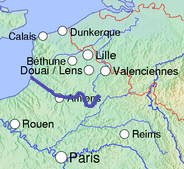 Course in Northern France